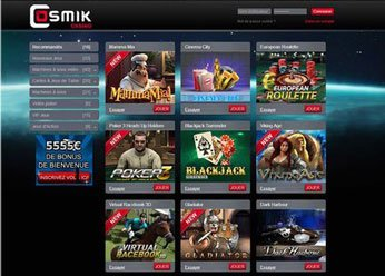 Cosmik casino jeux